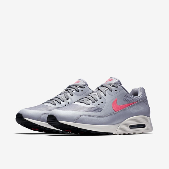 Wmns Nike Air Max 90 Ultra 2.0 Wolf Grey/pink