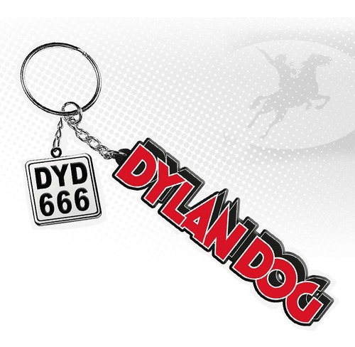Imagem 1 de 3 de Chaveiro Italiano Dylan Dog - Sbe - Bonellihq F19