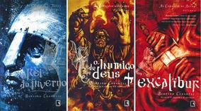 Livro Kit As Crônicas De Artur 3 Livros