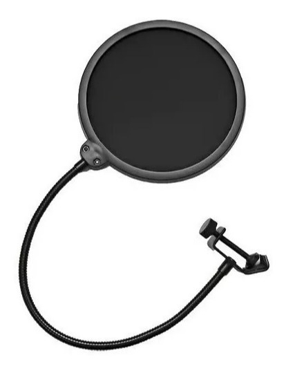 Pop Filter É Usado Para Melhorar Imediatamente O Som Do Microfone Em Suas Gravações Vocais