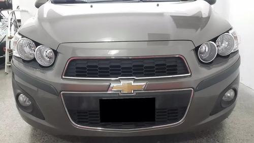 Chevrolet Sonic 2014 4 Ptas Protectores De Paragolpe 50 Mm