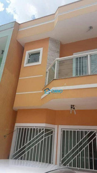 Sobrado Com 3 Dormitórios À Venda, 137 M² Por R$ 460.000 - Vila Matilde - São Paulo/sp - So0427