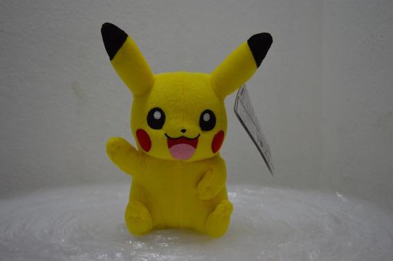 Pokemon Pelúcia Pikachu Acenando 23cms Original Tomy+ Brinde
