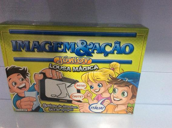 Jogo Imagem E Ação Júnior Lousa Mágica Ref 02590 Marca Grow