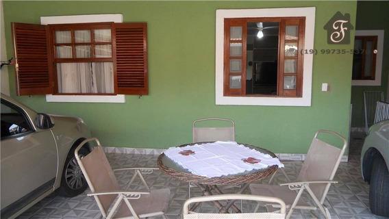 Casa Residencial À Venda, Jardim São Pedro, Campinas. - Ca0053