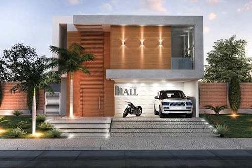 Casa No Condomínio Village Damha Ii Com 3 Quartos 170m², 4vagas - V7189