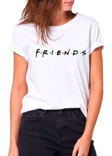 Remera Friends Estampada Sublimada