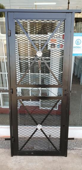 Puerta Reja Reforzada