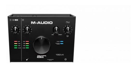 Interface De Audio M-audio Air 1924 Usb 2 Canais