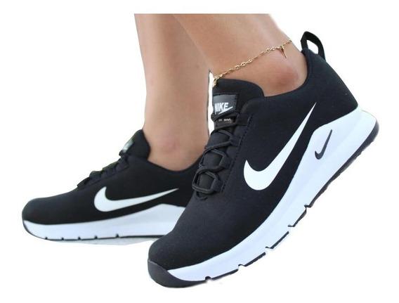 Nike Doble Chulo Zapatos Tenis Para Dama +envio Gratis