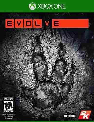 Evolve Xbox One - Mídia Física / Lacrado