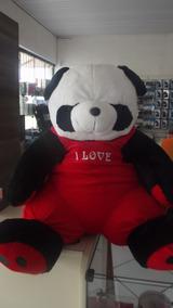 Urso Cachorro Pelúcia Panda Gigante