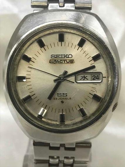 Relógio Seiko 5 Actus S S De 04/1973 Cal. 6106 R