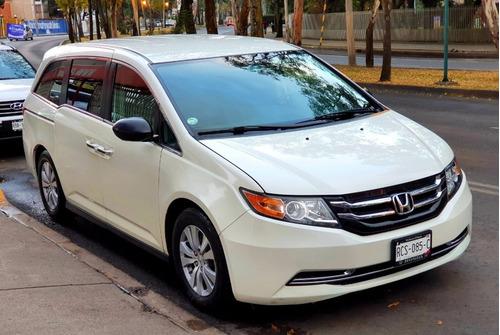 Honda Odyssey 2016 Lx Tela Factura De Agencia  Unico Dueño!!