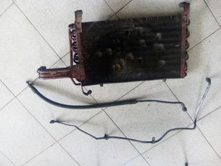 Condensador Aire Acondicionado Con Manguera De Fiat