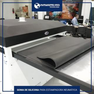 Goma De Silicona Para Estampadora Sublimadora 120x100 Cm