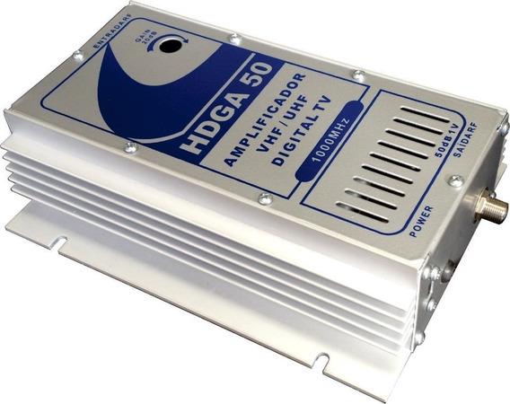 Amplificador 50db 1ghz Tv Digital Hdtv Hdga-plus