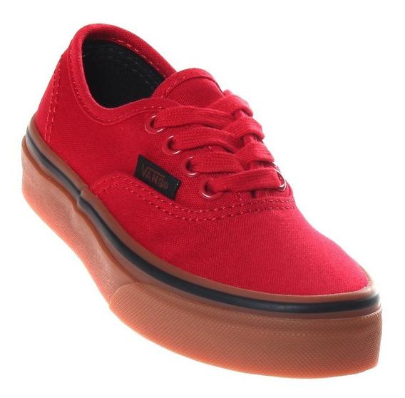 Tênis Vans Authentic Red/gum Original