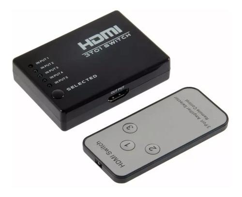 Switcher 3 Puertos Hdmi De Control