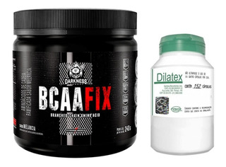 Bcaa Fix Powder 240g - Integral Medica + Dialtex 152caps