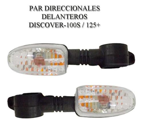 Direccionales Delanteros Discover-100 S / 125+ (par)