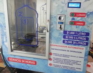 Máquina Vending Ventana Despachadora Agua Botellon Negocio