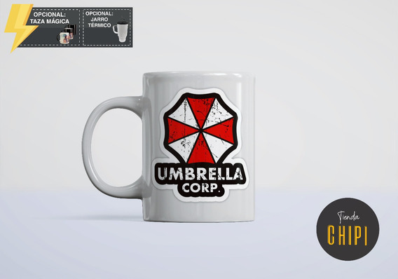 Taza Ceramica Resident Evil Umbrella Corps