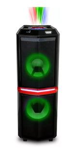Parlante Torre Portátil Novik Thunder 1800w Bluetooth Luces