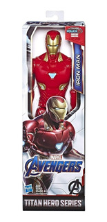 Muñeco Avengers Iron Man Pelicula Titan Hero Series Hasbro