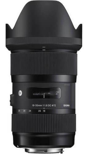 Imagem 1 de 5 de Lente Sigma 18-35mm F/1.8 Dc Hsm Art Para Nikon F