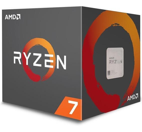 Processador Amd Ryzen 7 2700x 20mb 3.7 - 4.3ghz Am4