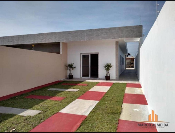 Casa Com 3 Dormitórios À Venda, 106 M² Por R$ 269.000 - Parque Augustus - Itanhaém/sp - Ca0242
