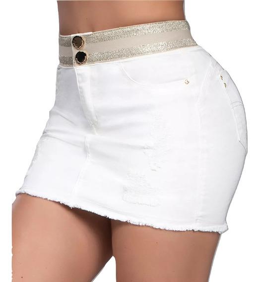 Saia Pit Bull Jeans Modela Levanta Modela Bumbum Original