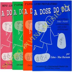 Kit Com 4 Métodos / Livros A Dose Do Dia Edna Mae Burnam