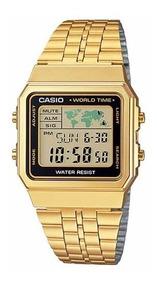 Relógio Feminino Casio Vintage A500wga-1df - ( Nota Fiscal )