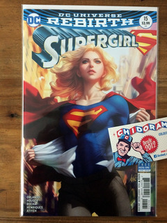 Comic - Supergirl #15 Artgerm Variant