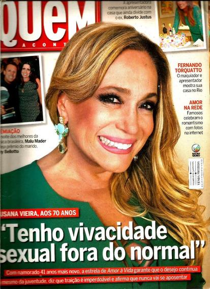 Revista Quem 667/13 - Xuxa/ana Carolina/malu Mader/ticiane