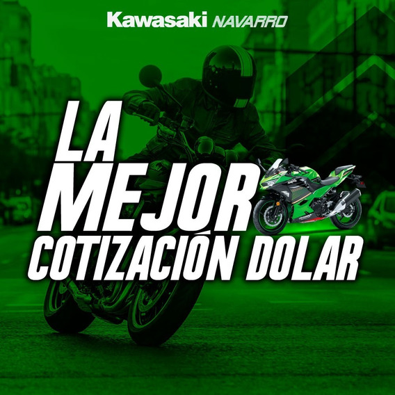 Kawasaki Ninja 400 Abs Krt Calle Financiada 12 Cuotas 0km