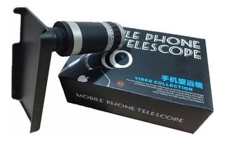 Lente Telescópica Zoom 8x Para iPhone 4 4s