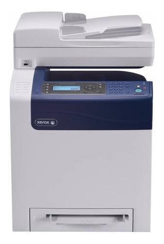 Impresora a color multifunción Xerox WorkCentre 6505/N 220V - 247V blanca y azul