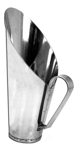 Imagem 1 de 1 de 6 Conchas Para Cereais Em Aço Inox Para 3kg (3000g)