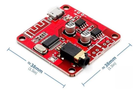 Placa Receptor De Áudio Bluetooth - Opções: 4.1 Ou 4.2