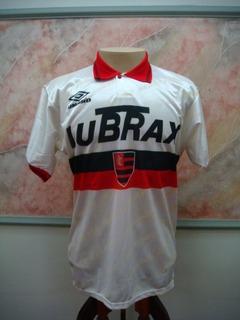 Camisa Futebol Flamengo Rio Janeiro Umbro Jogo Antiga 1846