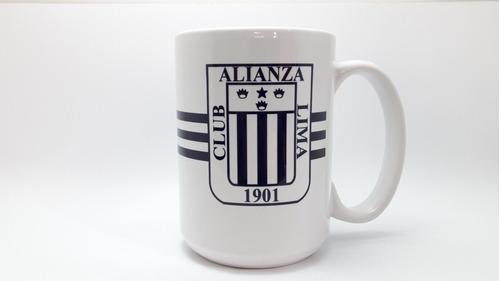 Taza Alianza Lima Grande Con Nombre