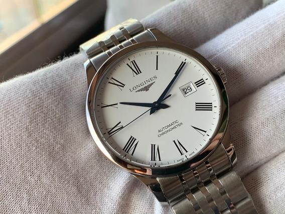 Relógio Longines Record Automatic Chronometer L2.821.4.11.6