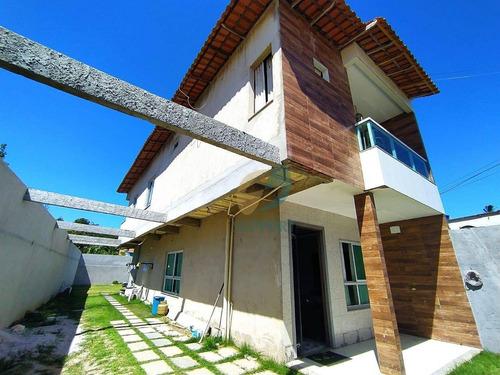 Imagem 1 de 30 de Casa No Bairro Santa Rosa Guarapari-es- Support Corretora De Imóveis - Es - Ca0112_supp