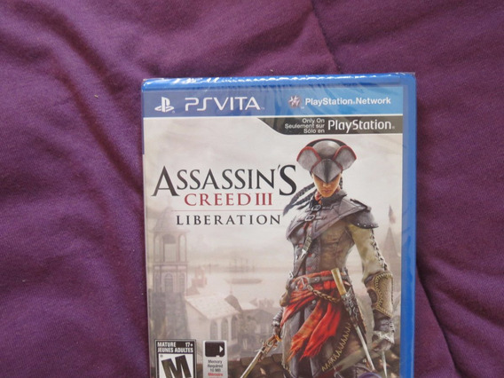 Assassins Creed 3 Liberation Psp Vita Playstation Sony
