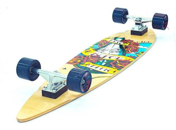 Skate Longboard Maple Abec-7 Coca-cola