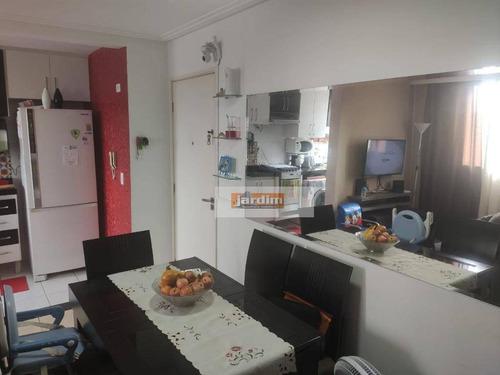 Imagem 1 de 10 de Apartamento Com 2 Dormitórios À Venda, 47 M² Por R$ 271.000,00 - Jardim Borborema - São Bernardo Do Campo/sp - Ap7008