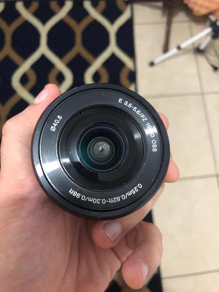 Lente Sony 16-50 F/3.5-6.3